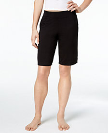 Alfani Solid Bermuda Shorts, Created for Macy's