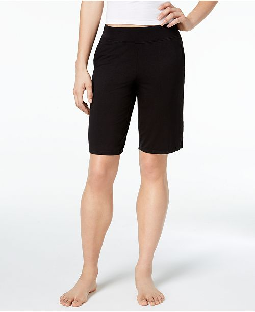 for Solid Bermuda Alfani Created Shorts Black Macy's Classic xfvqIzq6