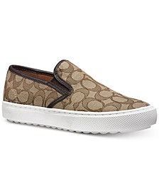 Signature Slip-On Sneakers