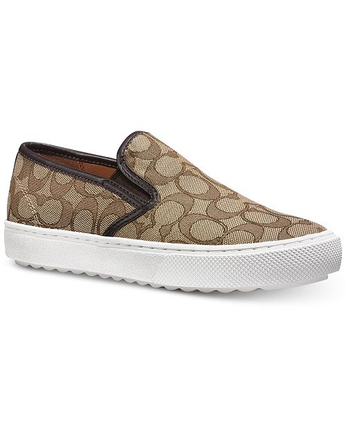 88bfe155c0512 Signature Slip-On Sneakers