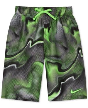 Nike Printed Swim Trunks,...
