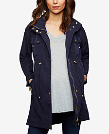 A Pea In The Pod Maternity Drawstring Jacket