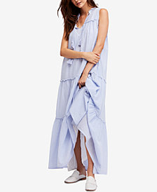 Free People River Gorge Tiered Maxi Dress