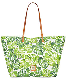 Dooney & Bourke Palm Montego Addison Medium Tote