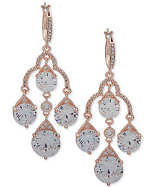 Anne Klein Crystal Chandelier Earrings
