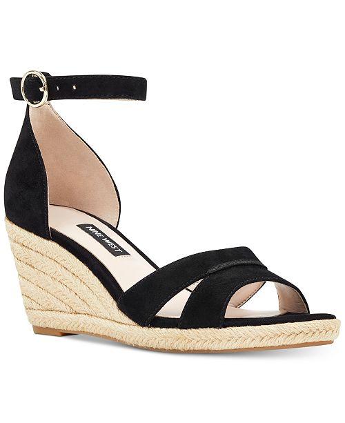 7f03c838cf Nine West Jeranna Wedge Sandals & Reviews - Sandals & Flip Flops ...