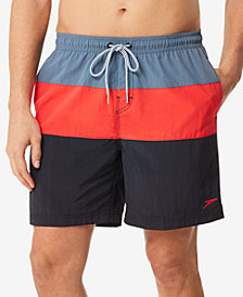 Speedo Men's Colorblocked 7'' Swim Trunks