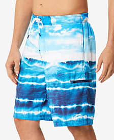 Speedo Men's Wave Cycle E-Board 9'' Swim Trunks