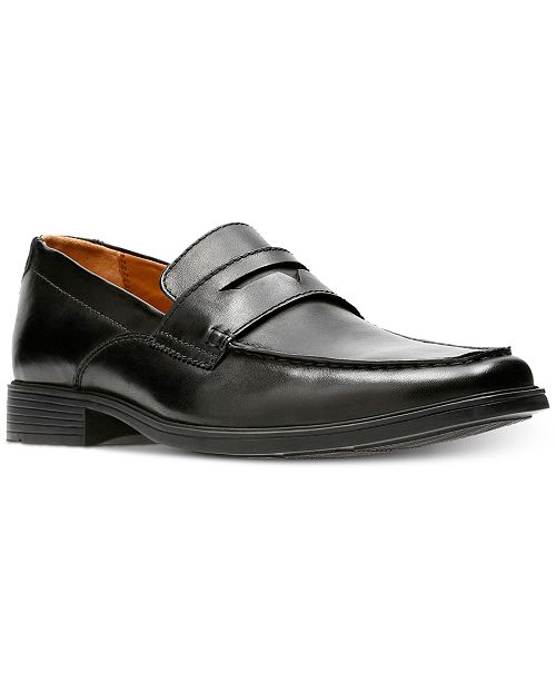0685a48c0cf Clarks Men s Tilden Way Leather Penny Loafers   Reviews - All Men s ...