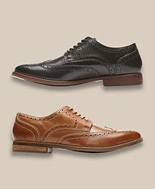 Men's Style Purpose Wingtip Oxfords