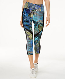 Calvin Klein Performance Connection Printed Cropped Leggings