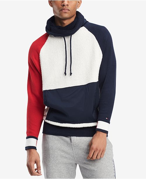 Tommy Hilfiger Mens Jeff Funnel Neck Sweatshirt Created For Macys