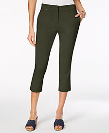 Style & Co Straight-Leg Capri Pants, Created for Macy's