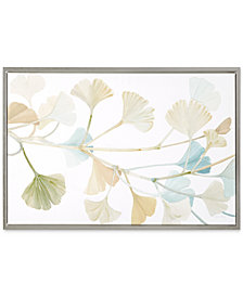 Madison Park Signature Spring Ginkgo Leaves Hand-Embellished Canvas Print