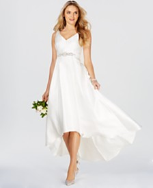 6cccf015343 Adrianna Papell Embellished High-Low Gown. Photo 1 ...