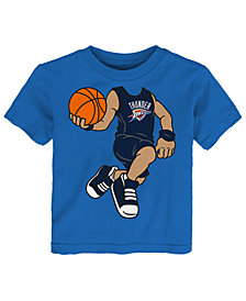 Outerstuff Russell Westbrook Oklahoma City Thunder Dunkin T-Shirt, Infant Boys (12-24 Months)