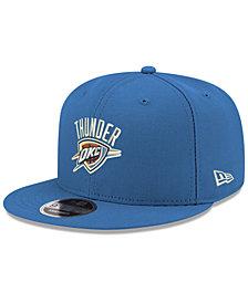 New Era Boys' Oklahoma City Thunder Basic Link 9FIFTY Snapback Cap