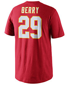 Nike Men's Eric Berry Kansas City Chiefs Pride Name and Number T-Shirt