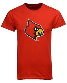 New Agenda Men's Louisville Cardinals Big Logo T-Shirt