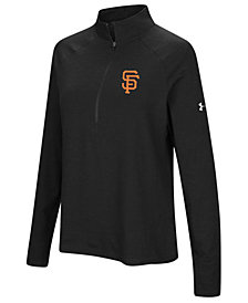 Under Armour Women's San Francisco Giants Passion Half-Zip Pullover