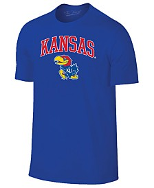 Retro Brand Men's Kansas Jayhawks Midsize T-Shirt