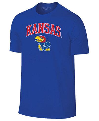 Retro Brand Men's Kansas Jayhawks Midsize T-Shirt