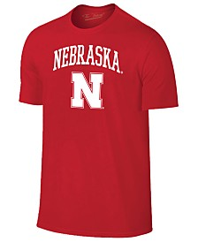 Retro Brand Men's Nebraska Cornhuskers Midsize T-Shirt