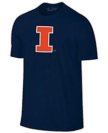 Men's Illinois Fighting Illini Big Logo T-Shirt