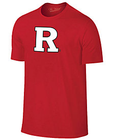 New Agenda Men's Rutgers Scarlet Knights Big Logo T-Shirt