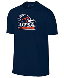 New Agenda Men's University of Texas San Antonio Roadrunners Big Logo T-Shirt
