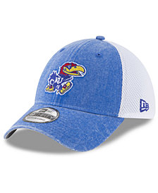 New Era Kansas Jayhawks Washed Neo 39THIRTY Cap