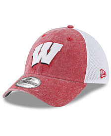 New Era Wisconsin Badgers Washed Neo 39THIRTY Cap