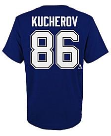 Nikita Kucherov Tampa Bay Lightning Player T-Shirt, Big Boys (8-20)