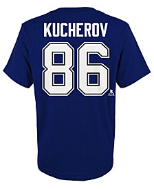 Outerstuff Nikita Kucherov Tampa Bay Lightning Player T-Shirt, Big Boys (8-20)