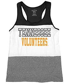 Women's Tennessee Volunteers Racerback Panel Tank Top