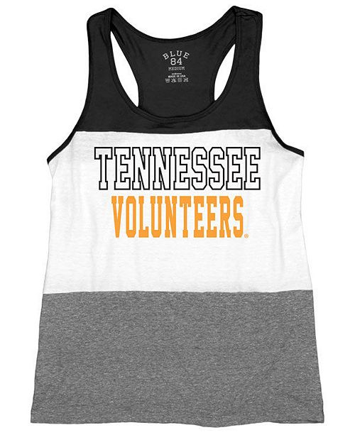 Blue 84 Women's Tennessee Volunteers Racerback Panel Tank Top