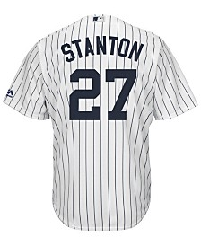 Majestic Men's Giancarlo Stanton New York Yankees Player Replica Cool Base Jersey