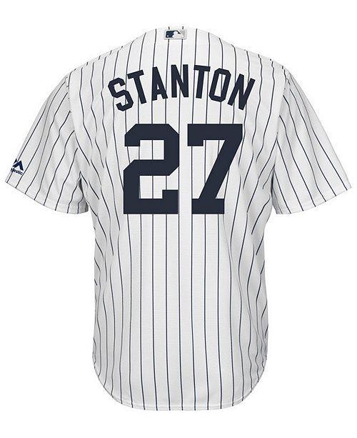 ... Majestic Men s Giancarlo Stanton New York Yankees Player Replica Cool  Base Jersey ... e707d46e8