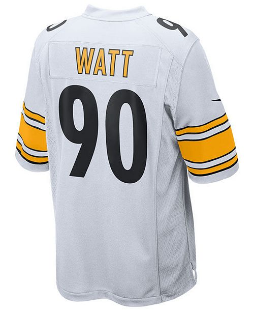 5ea1bbffebc Nike Men s T.J. Watt Pittsburgh Steelers Game Jersey   Reviews ...