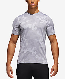 adidas Men's Hype ClimaLite® Camo-Print T-Shirt