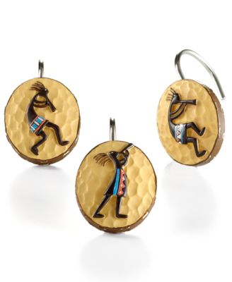 Kokopelli Shower Curtain Hooks