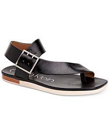 Calvin Klein Women's Rivita Flat Sandals