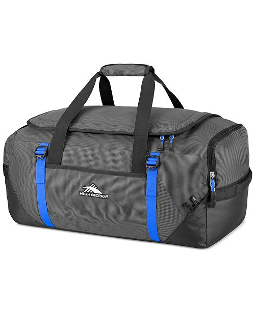 High Sierra Decatur 22 Drop Bottom Wheeled Duffel Duffels Totes Luggage Backpacks Macy S