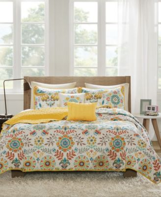 Nina 4-Pc. Twin/Twin XL Coverlet Set