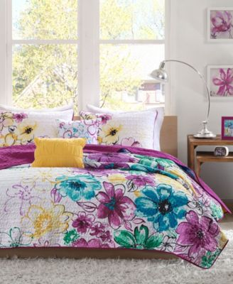 Olivia 4-Pc. Twin/Twin XL Coverlet Set