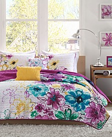 Olivia 5-Pc. Full/Queen Coverlet Set
