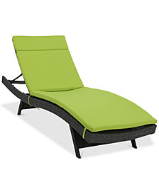 Taylor Outdoor Chaise Lounge, Quick Ship