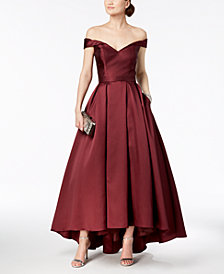 Xscape Off-The-Shoulder Sweetheart Gown