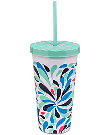 Vera Bradley Splash Multi Travel Tumbler