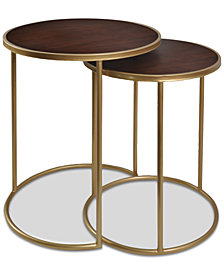 Mahogany Bay Nesting Table, Quick Ship